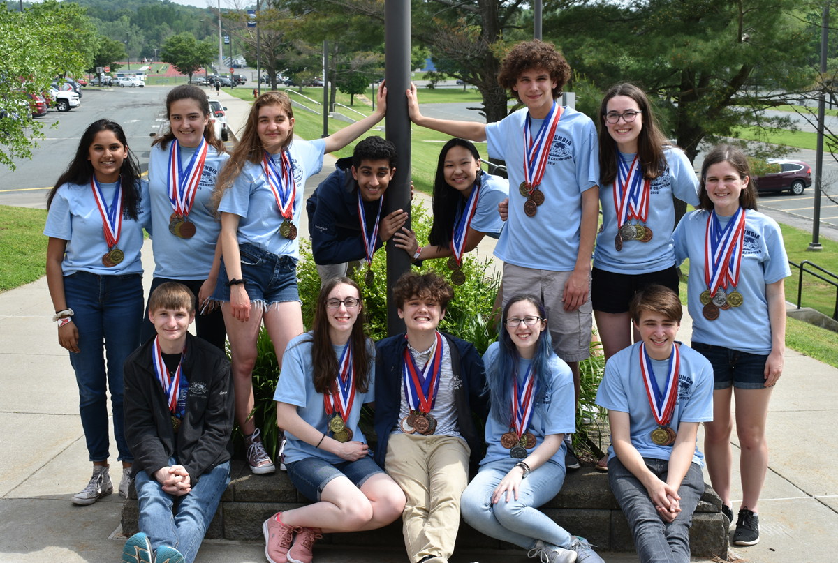 Columbia Science Olympiad team back from 2019 National Championship