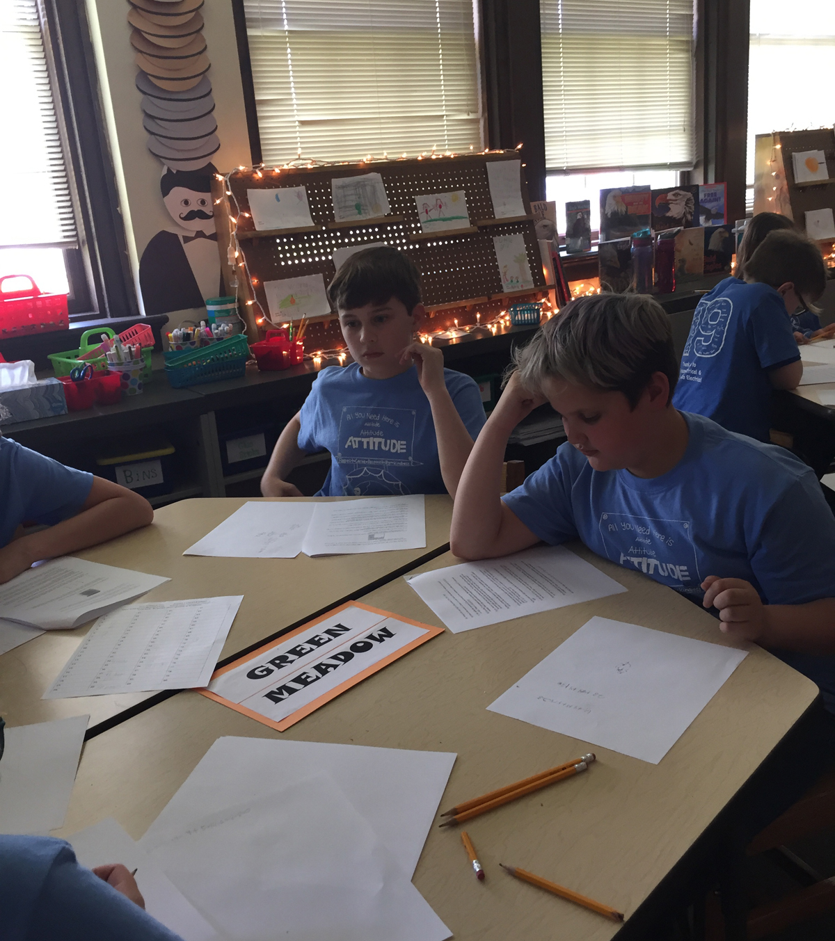 Green Meadow at 2019 5th grade math competition