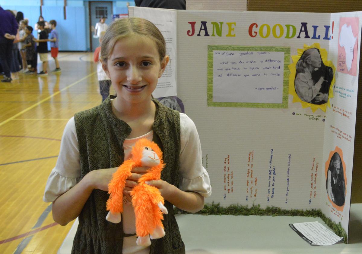 Jane Goodall at Genet Living Wax Museum