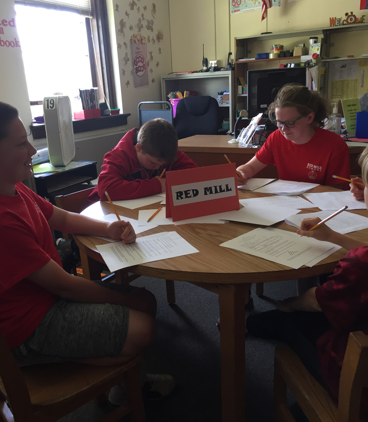 Red Mill at 2019 5th grade math competition