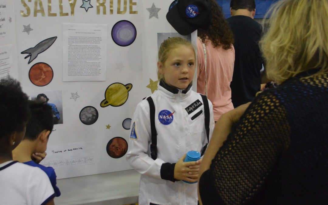 Genet Hosts 4th Annual Interactive Wax Museum
