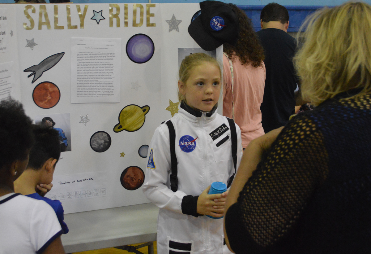Sally Ride at Genet Living Wax Museum