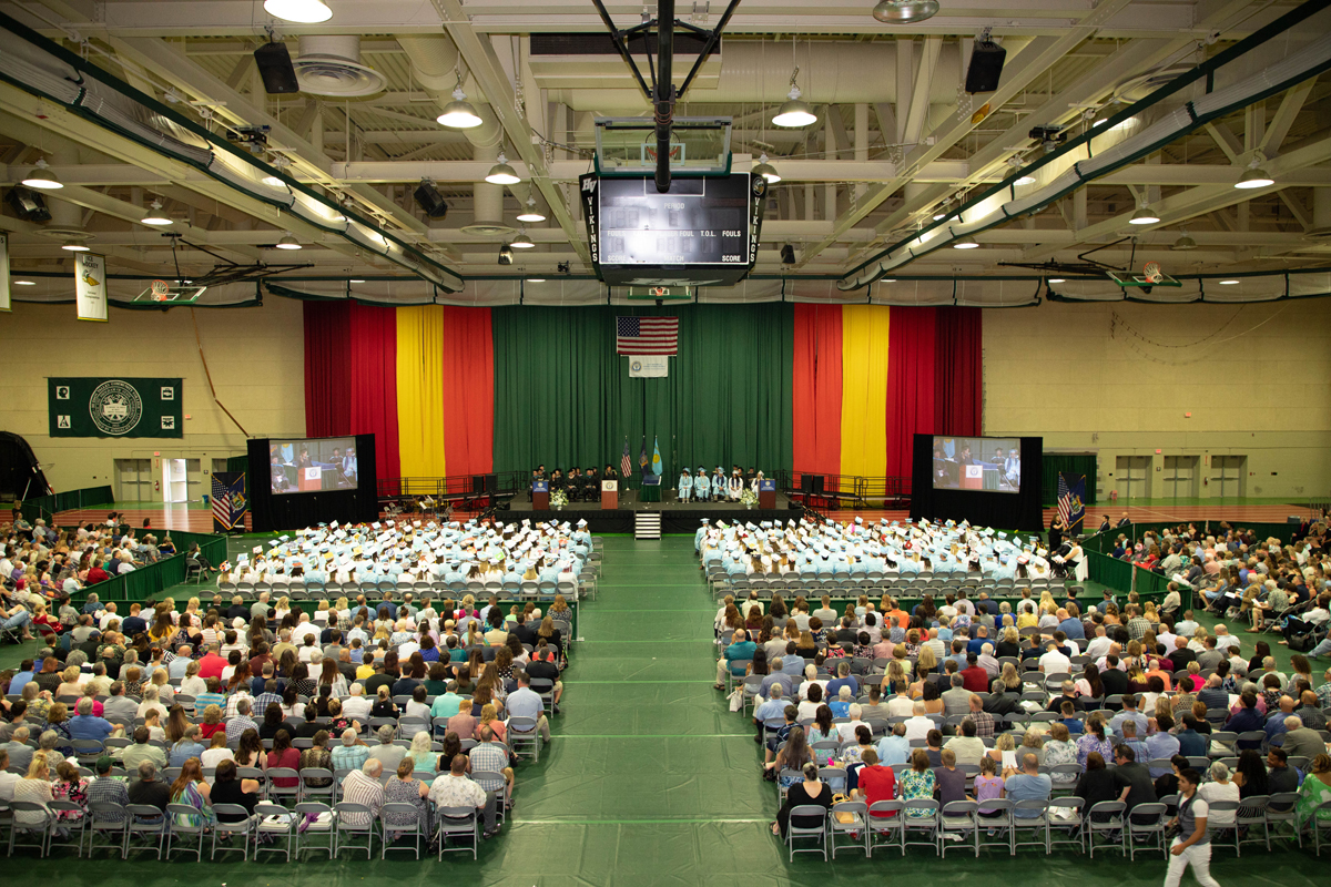 Columbia High School graduation at HVCC
