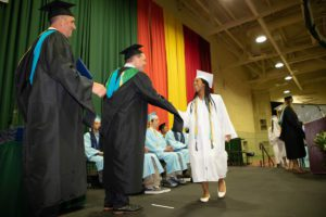 Michaela Davis-Pedlar receives diploma