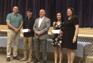 Students receive James McHugh Scholarship