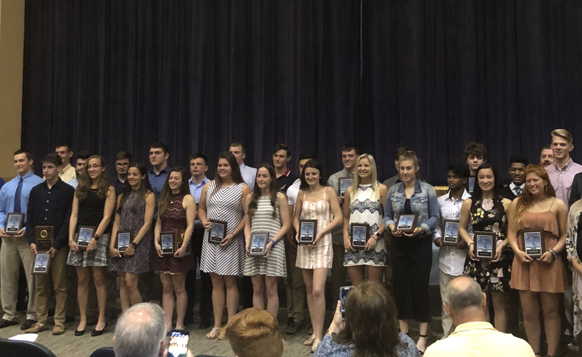 Plaque Award winners