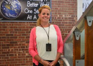 Sarah Hoffman at Goff Middle School