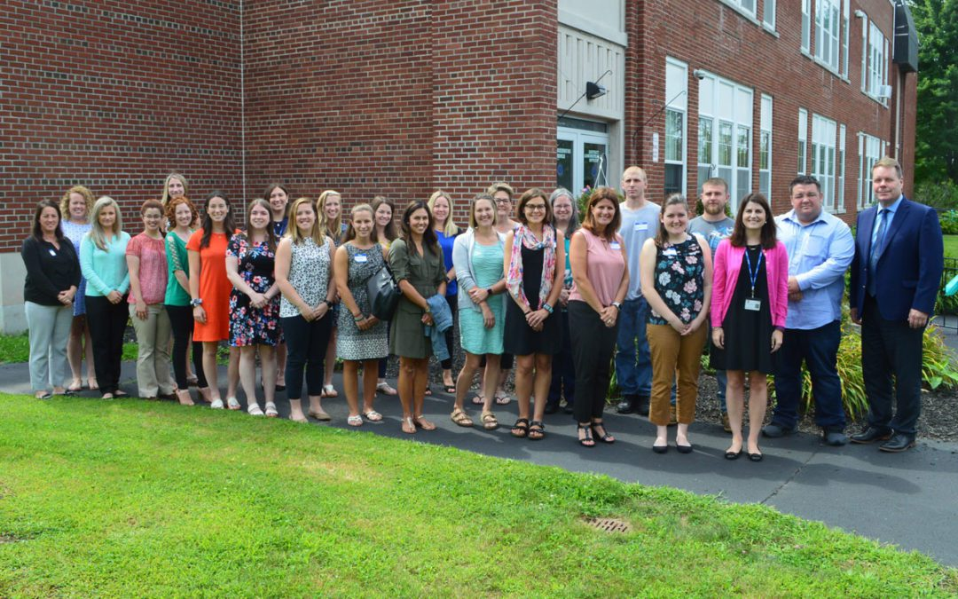 Welcome to New Teachers and Staff