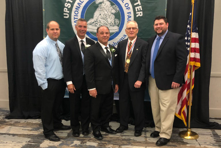 Anthony Servidone Inducted into National Wrestling Hall of Fame