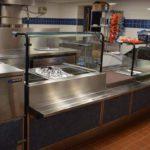 DPS kitchen line