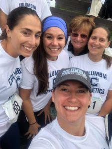 Staff at 2019 Teal Ribbon Run