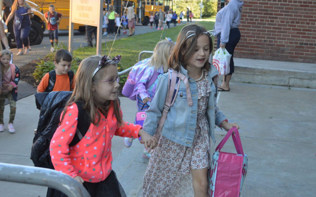 Smiles All Around on First Day of School