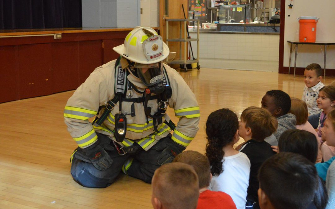 Students Learn Lessons in Fire Safety
