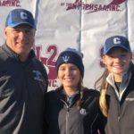 Columbia girls golf team at state qualifier