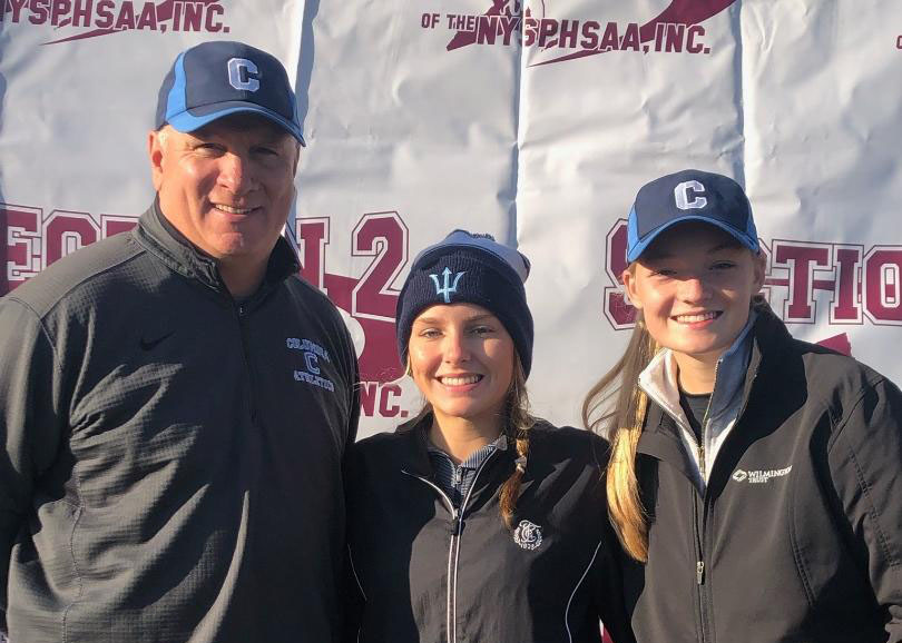 Columbia girls golf team at state qualifier