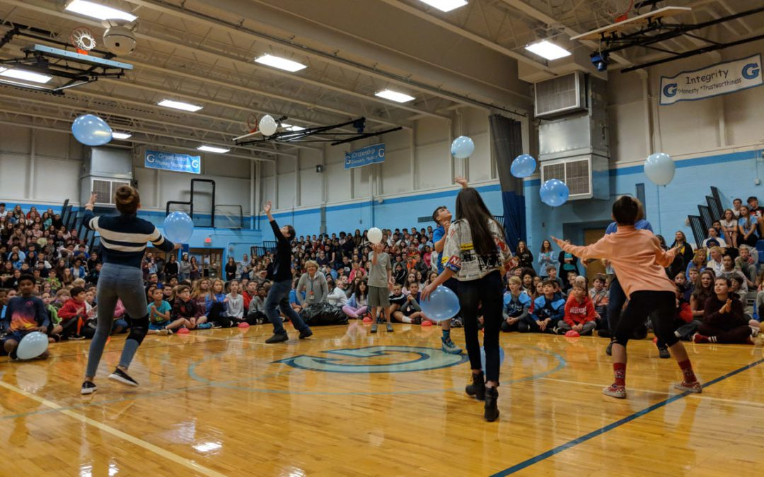 Goff Middle School Celebrates Students at Character Education Assembly