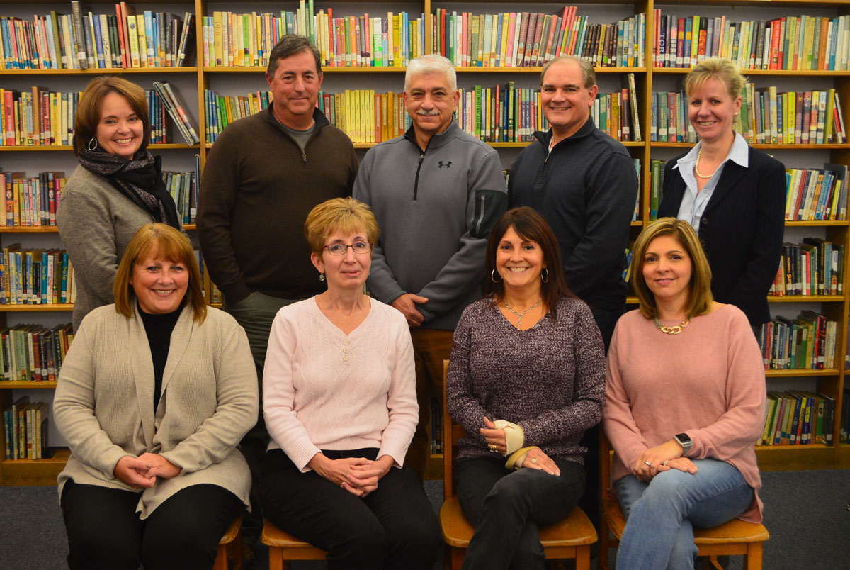2019-20 Board of Education group photo