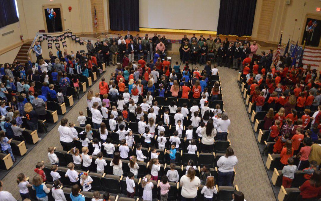 East Greenbush Schools Celebrate Veterans Day