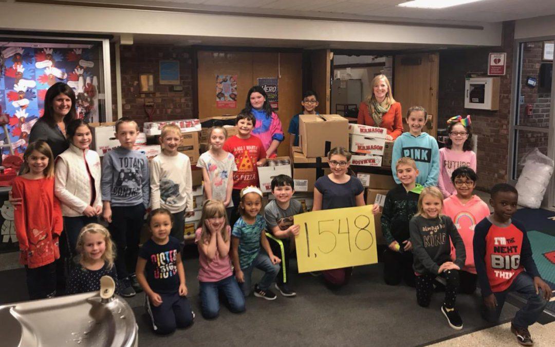East Greenbush Schools Start Holiday Season By Giving Back