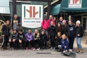 Goff Student Council at Double H Ranch