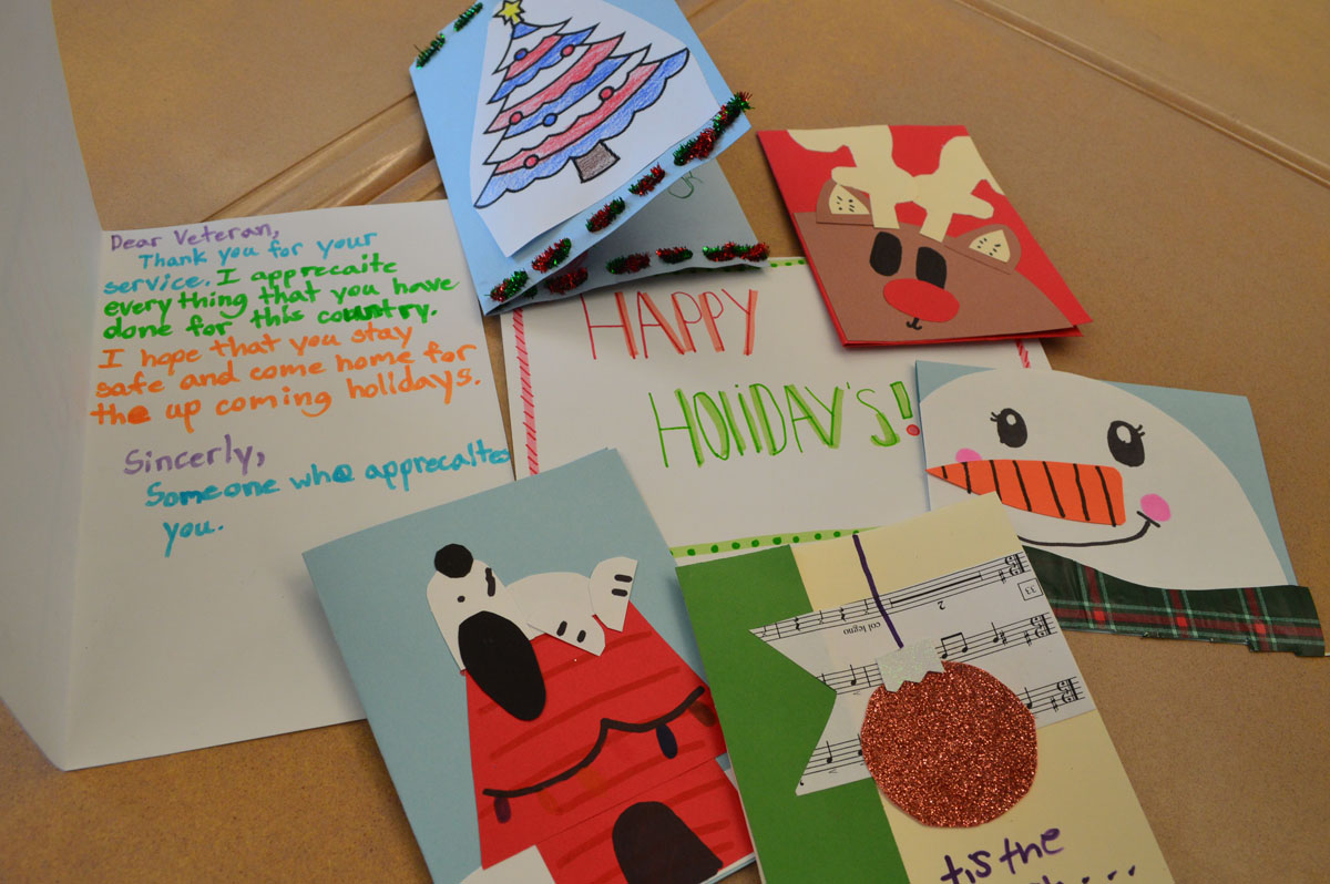 Holiday Cards for veterans