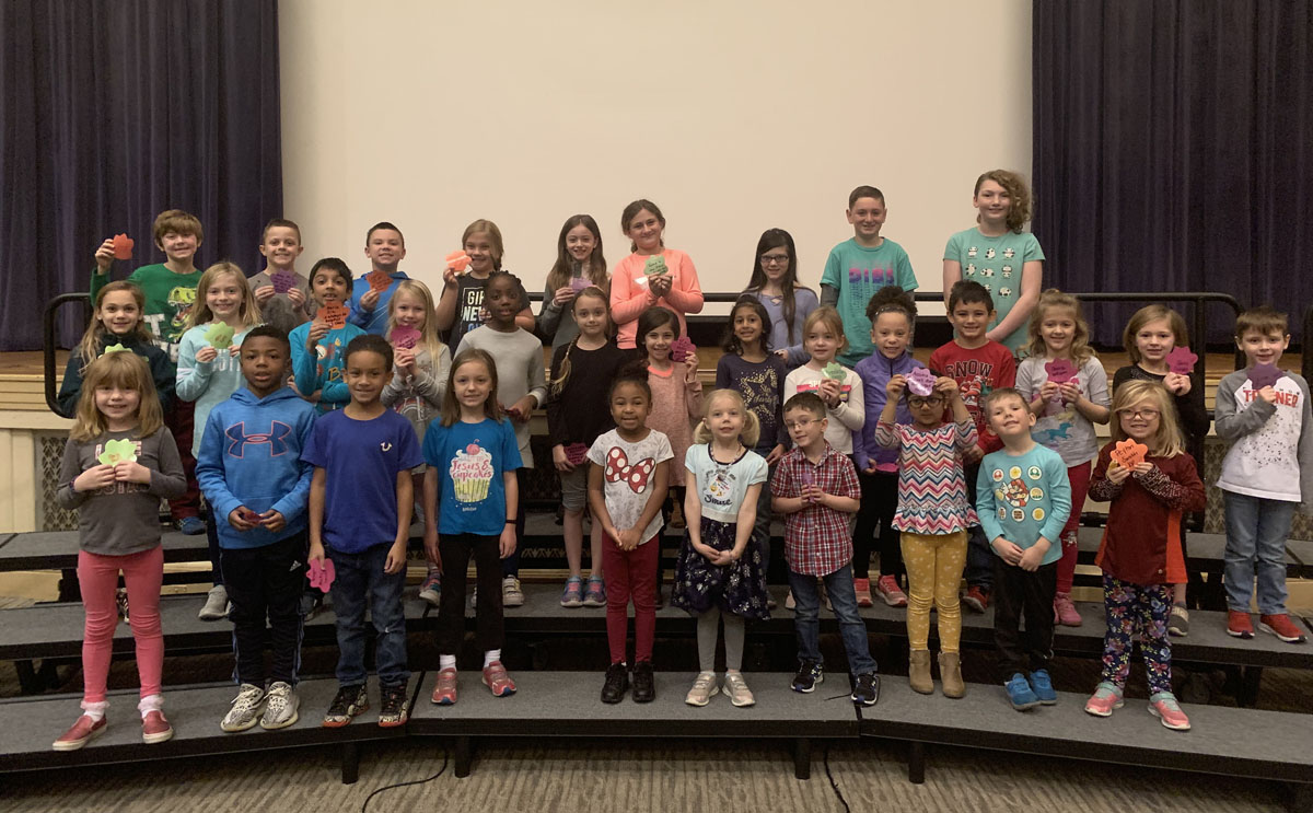 Genet students recognized with Pride Paws