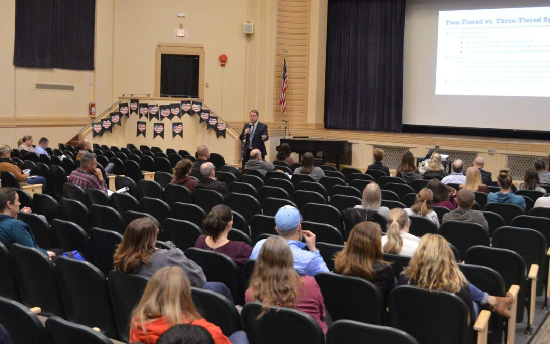 District Hosts First of Three School Start Time Community Meetings
