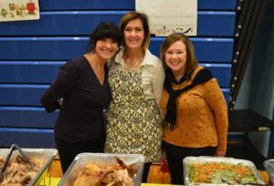 Staff at 2019 Goff Thanksgiving Feast