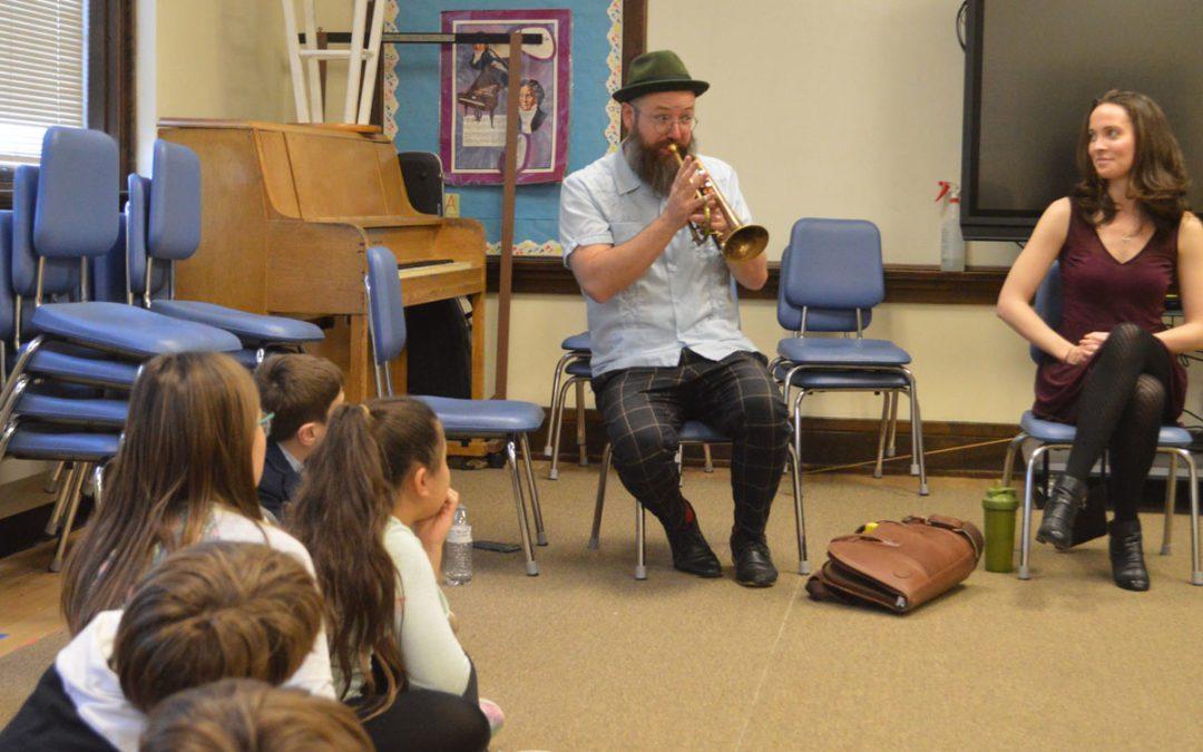 Visiting Musicians Lead Workshops at East Greenbush Elementary Schools