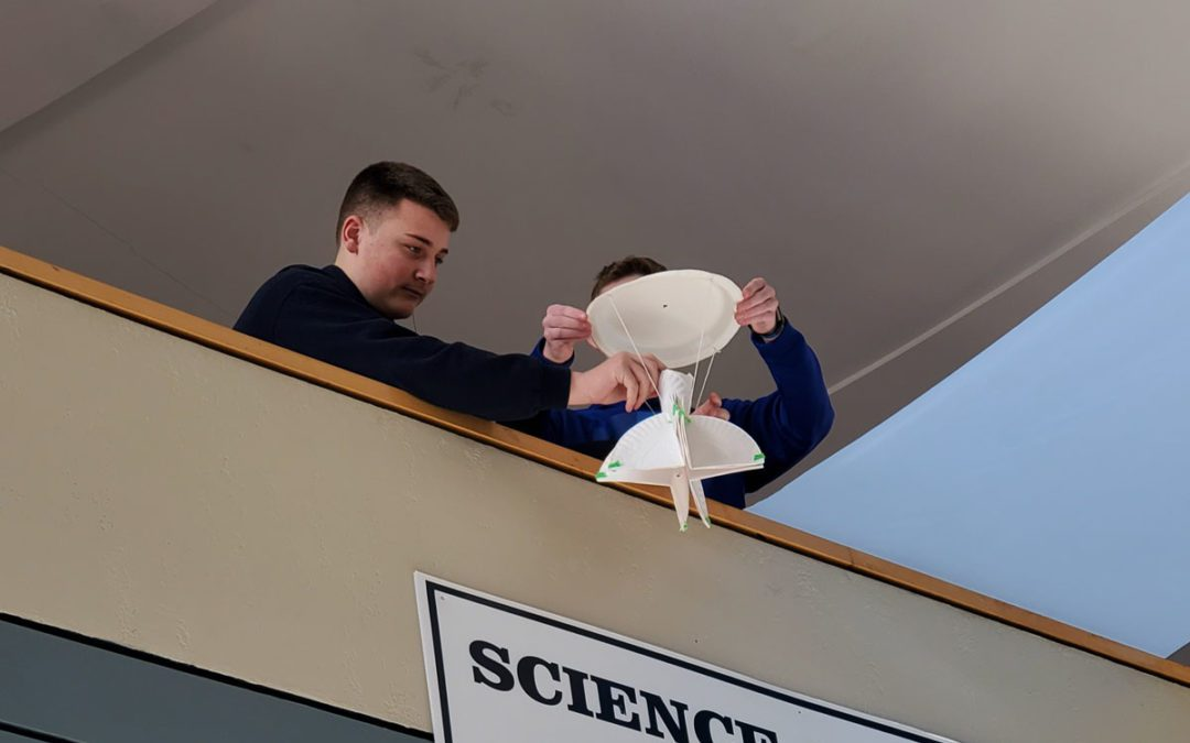 Students Complete Egg-cellent Engineering Lesson