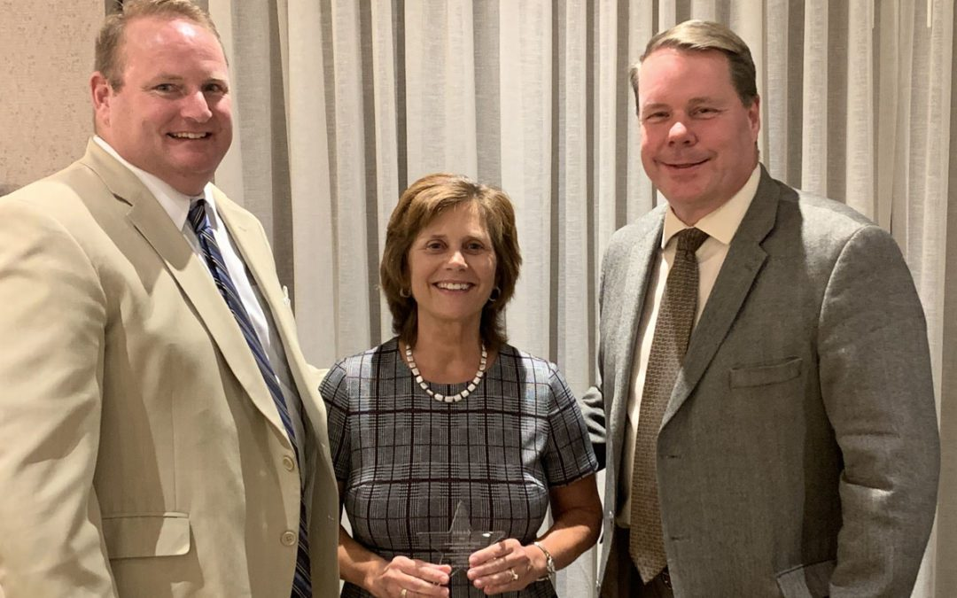 Marie McBride Receives CASDA Friend of Education Award