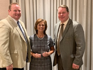 Marie McBride receives CASDA award