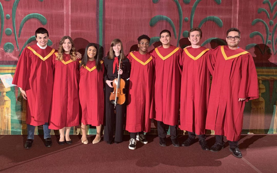 "Students to Perform on CBS6's ""Melodies of Christmas"""
