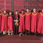 Columbia students performing in the Melodies of Christmas at Proctors Theatre