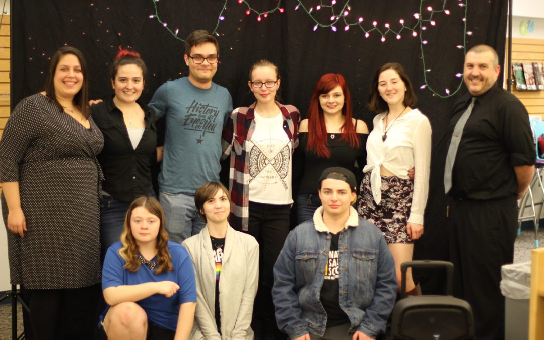 Nina Tedeschi Wins 6th Annual Poetry Slam