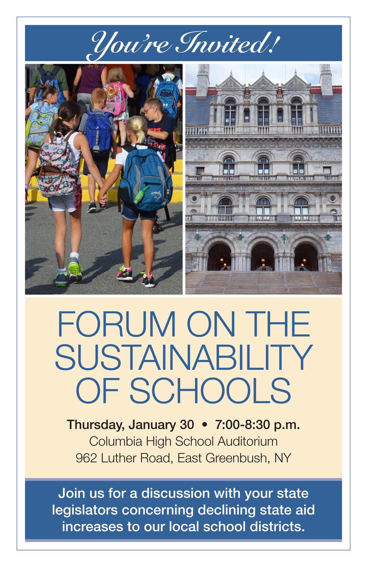 Advocacy Forum invite