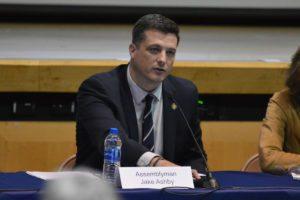 Assemblyman Jake Ashby at Public Forum