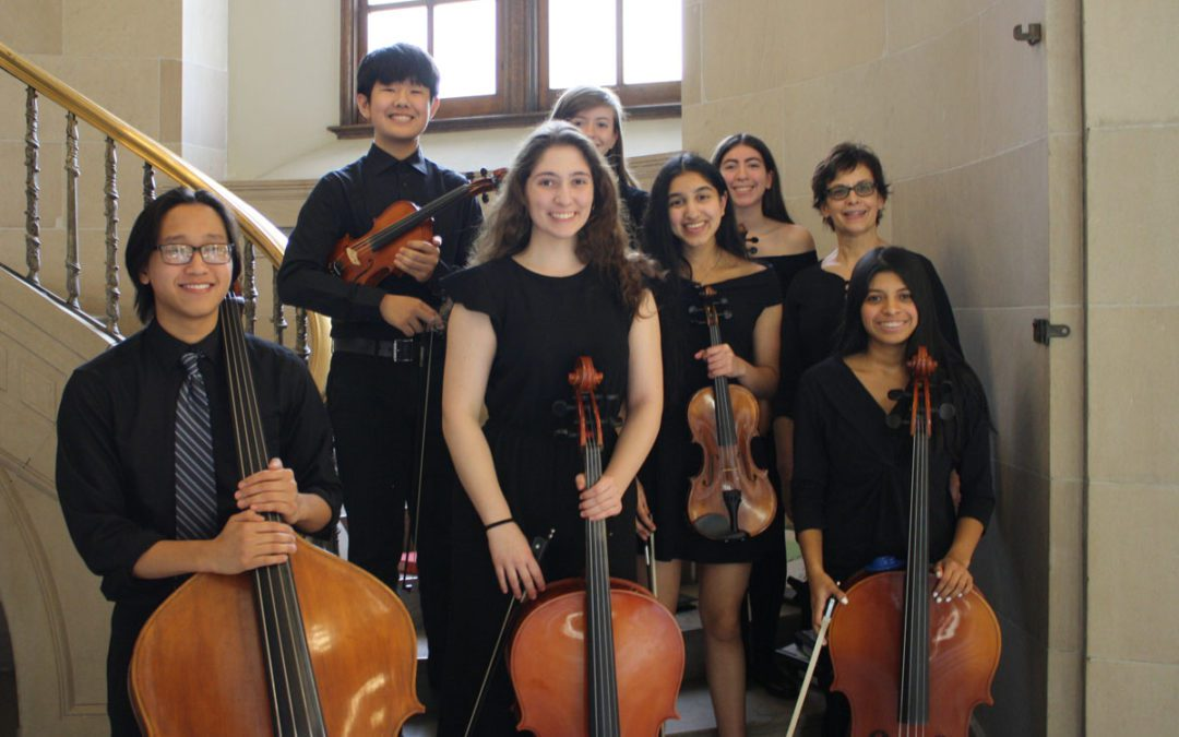 String Ensemble Performs at State Education Department Award Ceremony