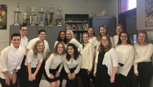 Goff chorus at All County Winter Music Festival