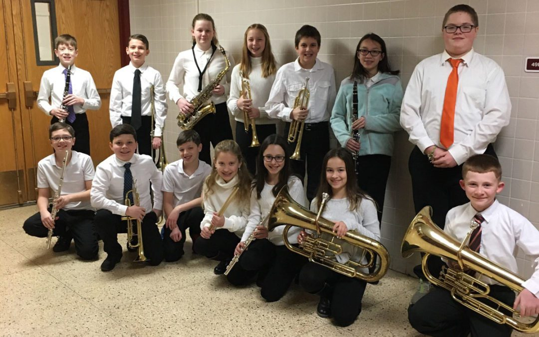 Columbia and Goff Musicians Perform at All-County Winter Music Festival