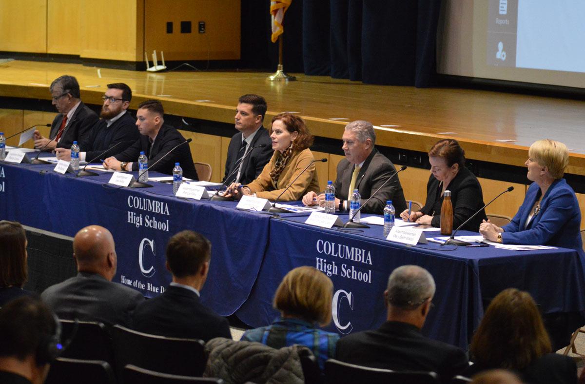 Legislators at public forum