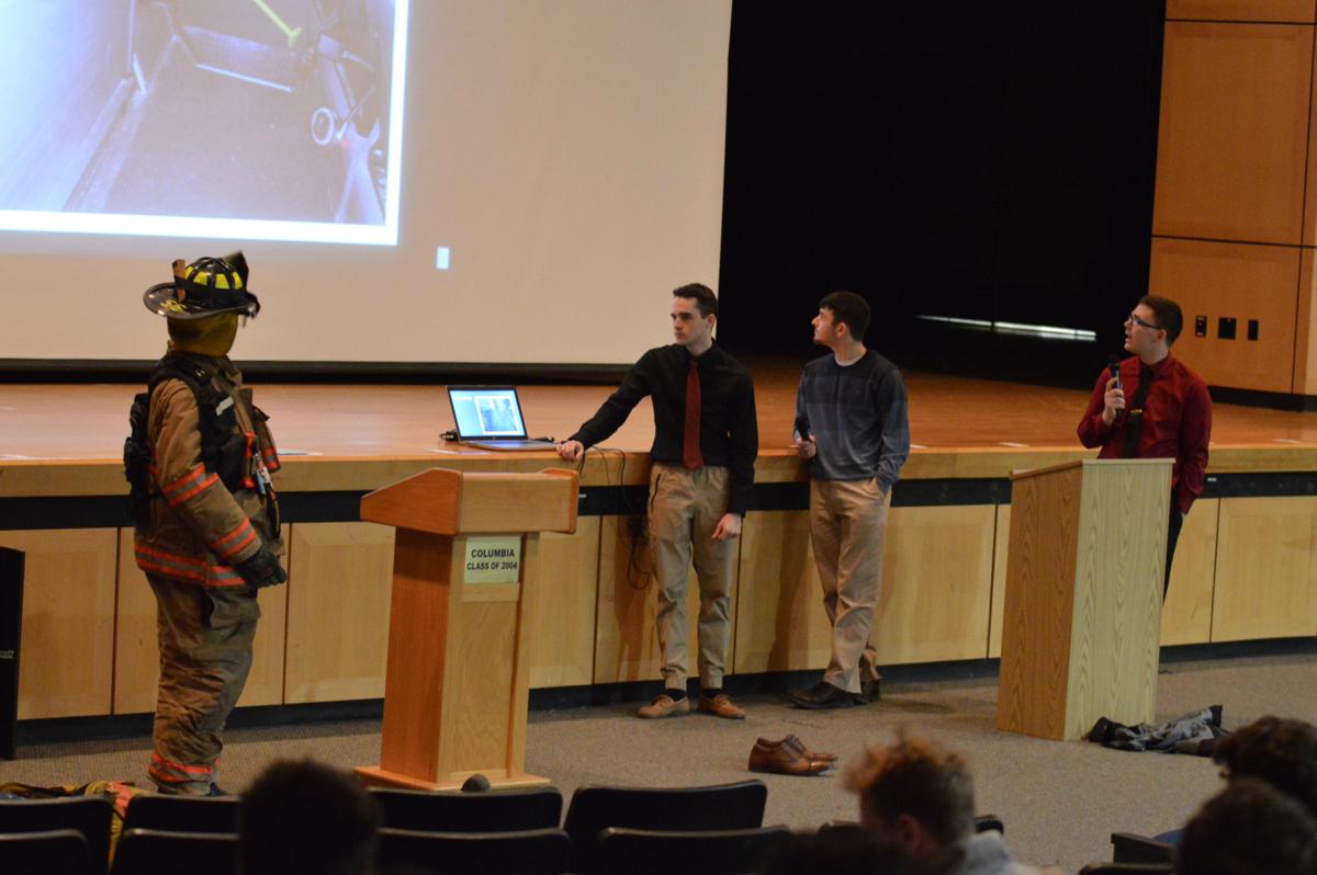 Students give presentation on Legislative Lobby Day
