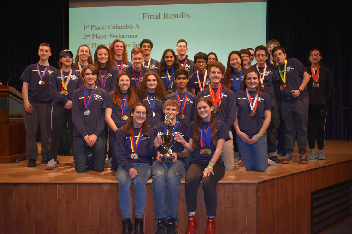 Columbia Science Olympiad at Regional Championship