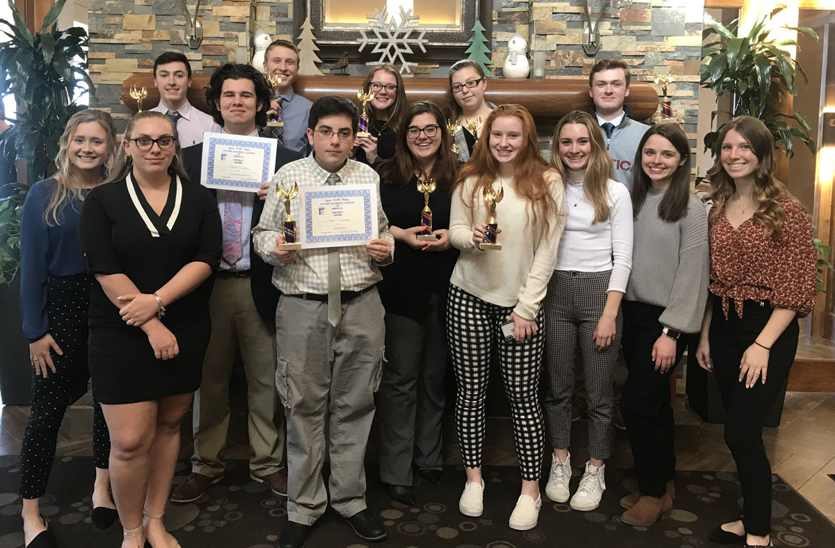 CHS students at FBLA Regional Competition