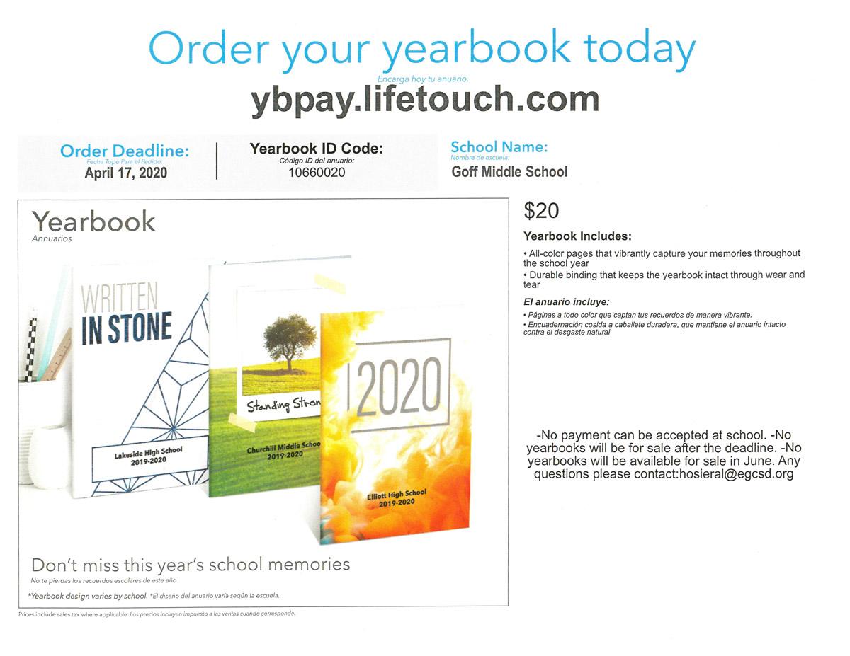 2019-20 Goff Yearbook flyer-1
