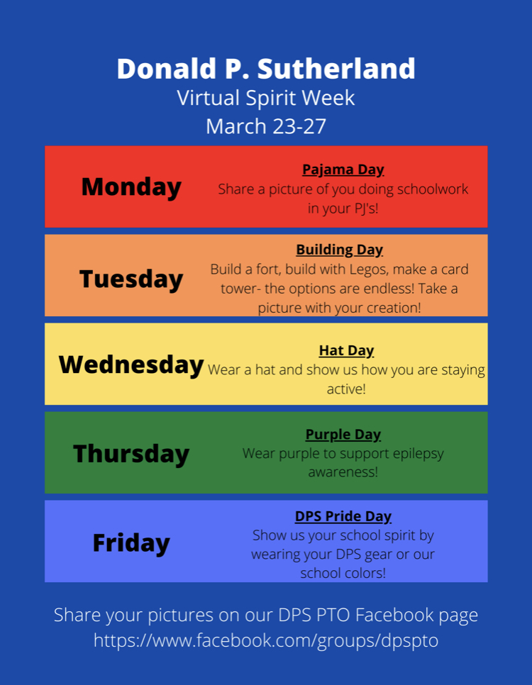 DPS Spirit Week image