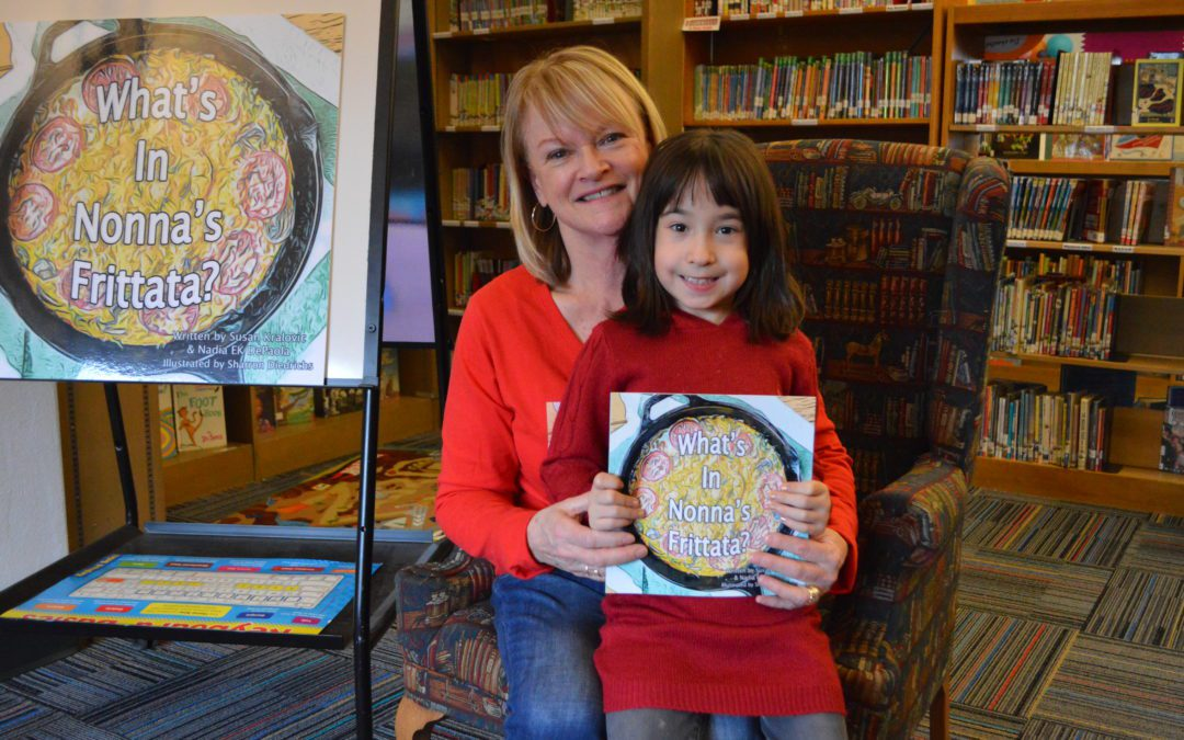 Bell Top Students Featured in the Children's Book 'What's in Nonna's Frittata?'