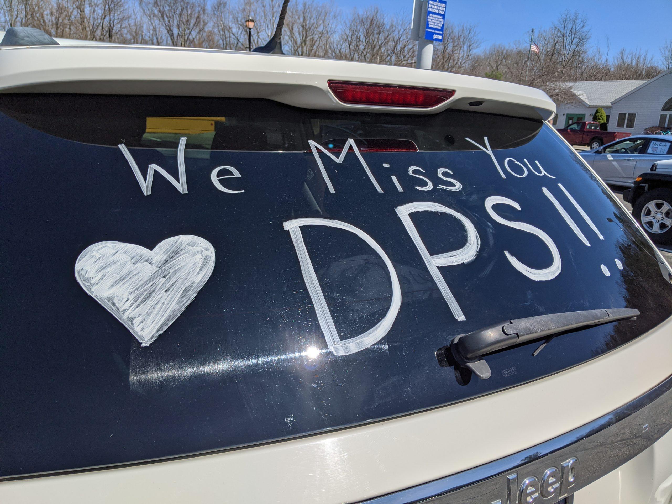 Car in DPS parade