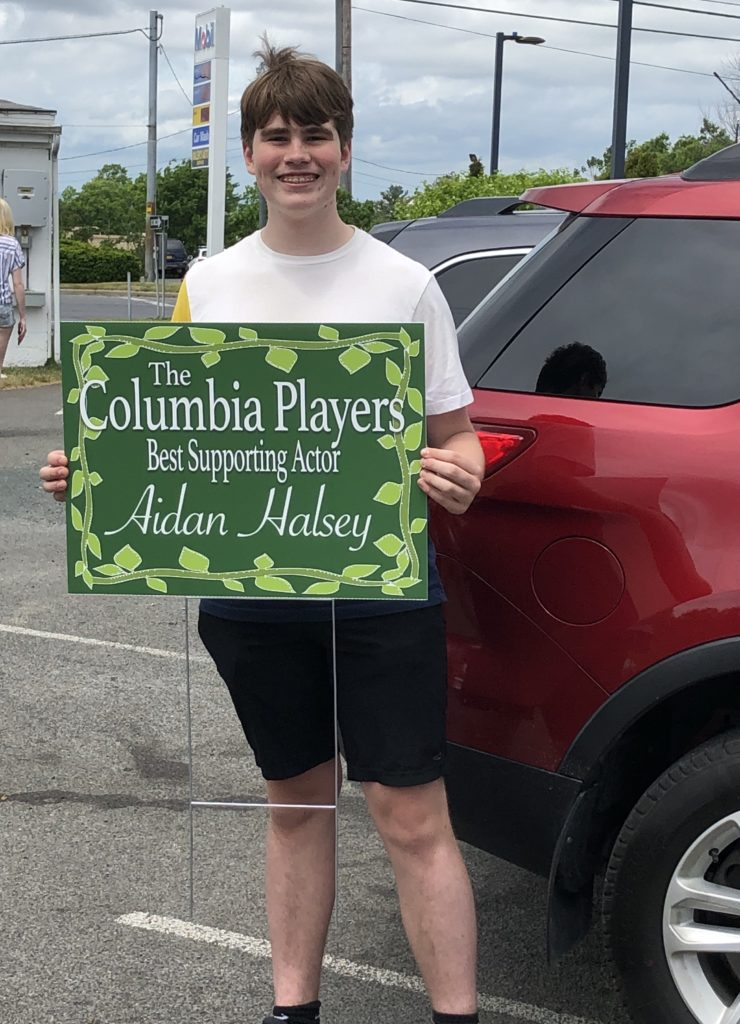 Aidan Halsey - Best Supporting Actor