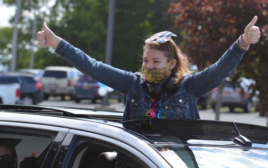 Goff Middle School Hosts Elevation Celebration Parade